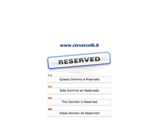 civvercelli.it screenshot