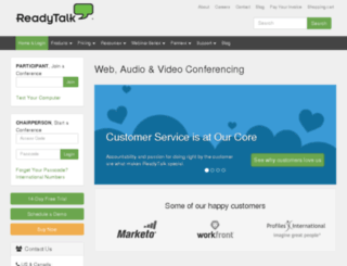 ciwebgroup.readytalk.com screenshot
