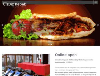 cizbizkebab.be screenshot