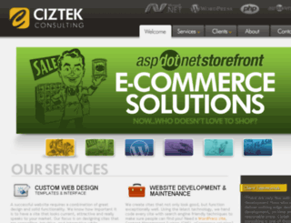 ciztek.com screenshot
