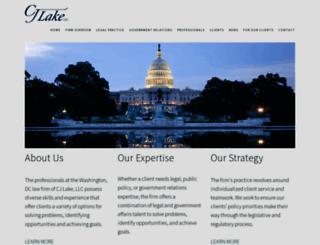 cj-lake.com screenshot