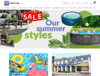 cjcfurniture.co.uk screenshot