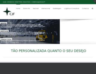 cjflda.pt screenshot