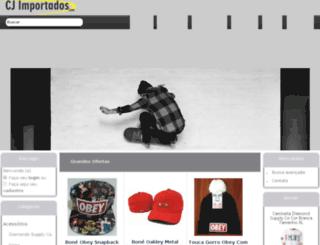 cjimportados.com screenshot