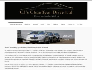 cjschauffeurdrive.co.uk screenshot