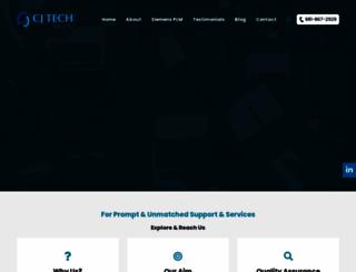 cjtech.co.in screenshot