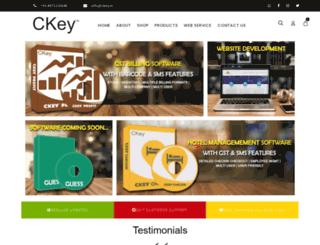 ckey.in screenshot