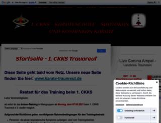 ckks-traunreut.jimdo.com screenshot