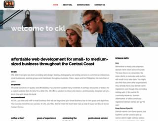 cklwebconcepts.com.au screenshot
