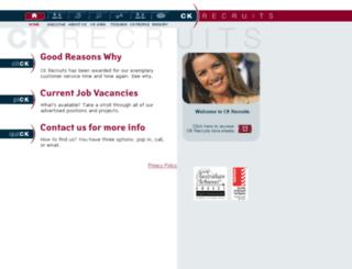 ckrecruits.com.au screenshot