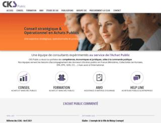 cks-public.fr screenshot