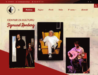 cks-romberg.hr screenshot