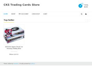 ckstrading.com screenshot