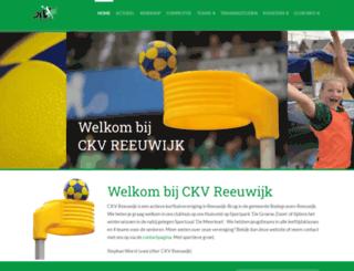 ckv-reeuwijk.nl screenshot