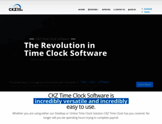 ckzinc.com screenshot