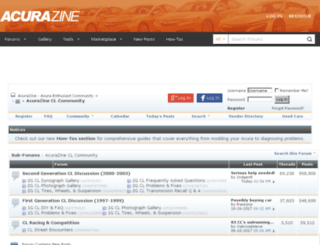 cl.acurazine.com screenshot