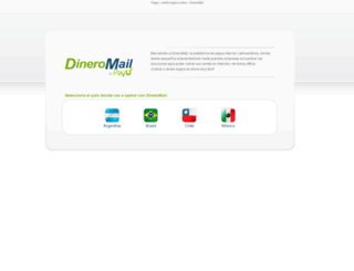 cl.dineromail.com screenshot