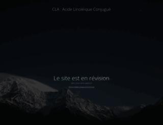 cla-acide-linoleique-conjugue.com screenshot