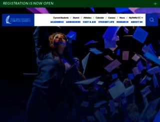 cla.tamucc.edu screenshot