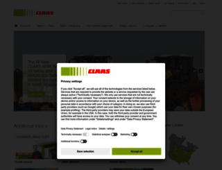 claasofamerica.com screenshot