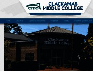 clackamasmiddlecollege.edlioschool.com screenshot