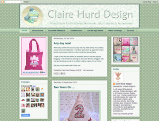 clairehurd.blogspot.com screenshot