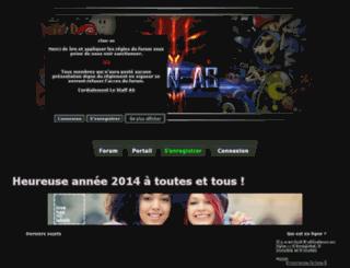 clan-as.forum2ouf.com screenshot