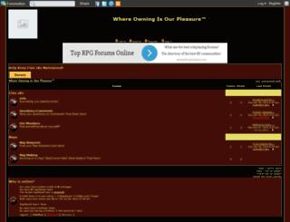 clan-skz.forumotion.com screenshot