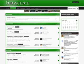 clan-subsistence.com screenshot