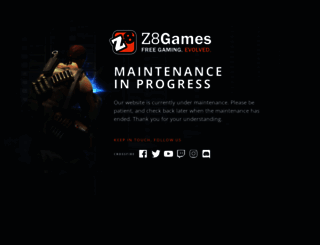 clan.z8games.com screenshot