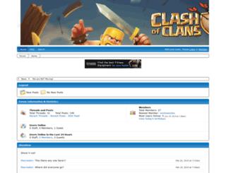 clancanada.freeforums.net screenshot