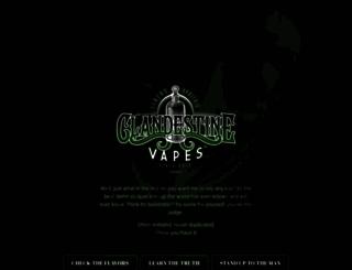 clandestinevapes.com screenshot