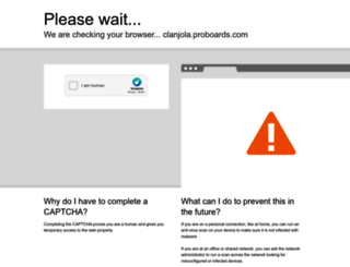 clanjola.proboards.com screenshot