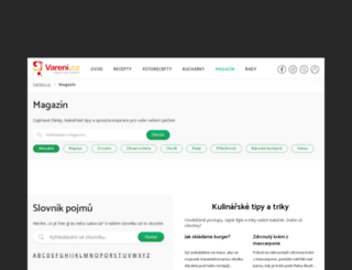 clanky.vareni.cz screenshot