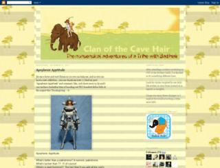clanofthecavehair.blogspot.com screenshot