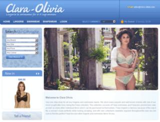 clara-olivia.com screenshot