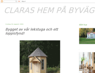 clarashempabyvagen.blogspot.com screenshot