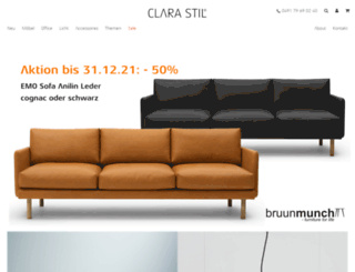 clarastil.de screenshot