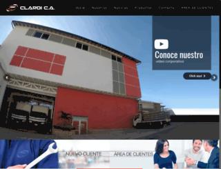 clardica.com screenshot