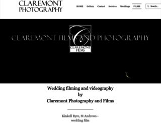 claremontfilms.co.uk screenshot