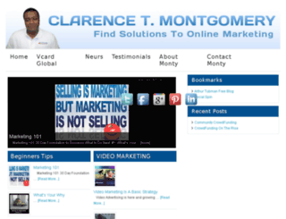 clarencetmontgomery.com screenshot