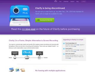 clarify-it.com screenshot