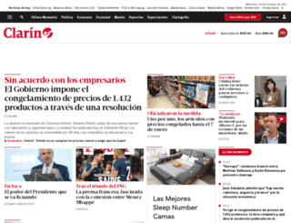 clarin.com.ar screenshot