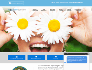 clarineyecare.com screenshot