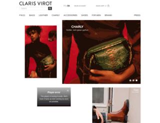 clarisvirot.com screenshot