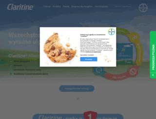 claritineactive.pl screenshot