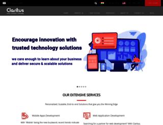 claritusconsulting.com screenshot