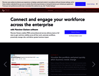 clarizen.com screenshot