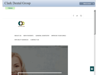 clarkdental.mydentalvisit.com screenshot