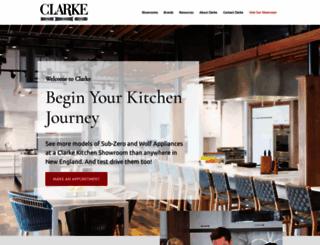 clarkeliving.com screenshot